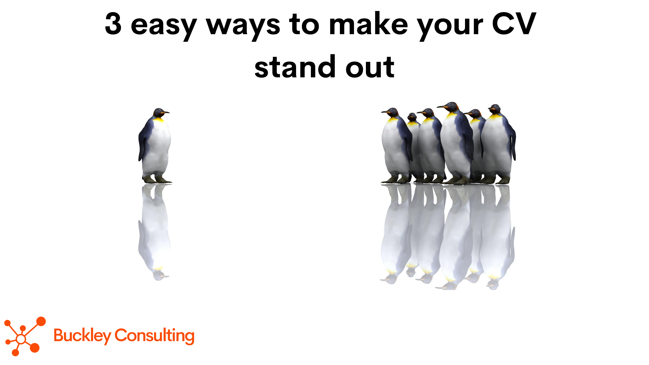 3 easy ways to make your CV stand out from the crowd
